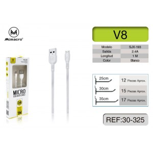 MIMACRO Cable MicroUSB 1M,...