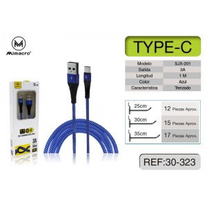 MIMACRO Cable Tipo-C 1M,...