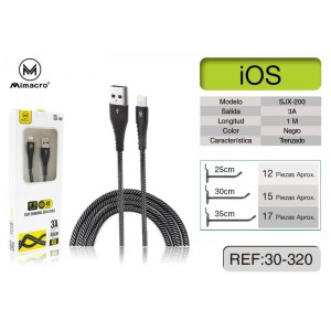 MIMACRO Cable Lightning 3A...