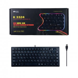 Mini Keyboard with Cable,...