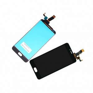 Screen For Meizu M5 Black