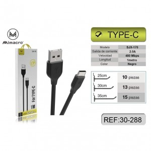 Mimacro Cable USB Tipo C a...