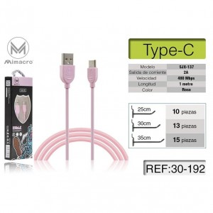 Mimacro Cable Type-c, 2A,...