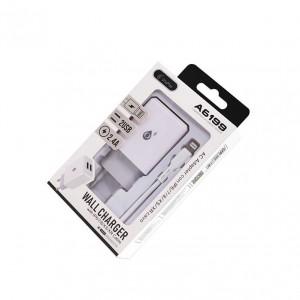 Cargador 2 USB con cable...