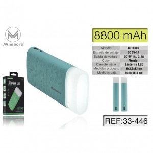 Mimacro Power Bank 8800 mAh...